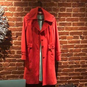 Kate spade red-orange coat / jacket